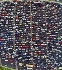 58fc23 china traffic jam x220
