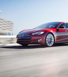 D25a61 red tesla model s x220