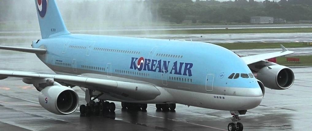 9b0e72 korean air plane h678