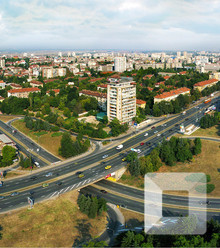 B62358 road junction sitnyakovo blvd sofia x220