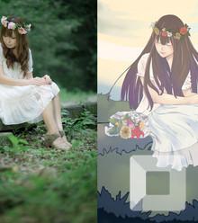 D33a92 photo vs painting x220