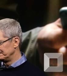 Cfd0c0 apple chef tim cook an einer produktelancierung im maerz zum ersten mal seit 2003 konnte der elektronikriese seinen umsatz nicht steigern x220