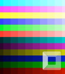 D89ace color level x220
