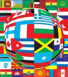 4a5998 world flags distorted x220