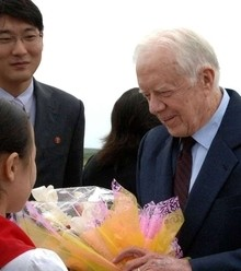Dc64a4 jimmy carter in north korea x220