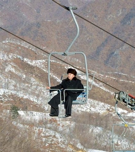 7e34e1 kim jon un at ski resort x220