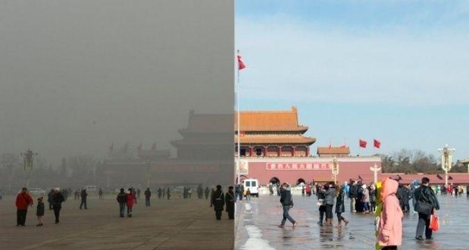 Бээжин таван жилийн хугацаанд агаарын бохирдлоо 30 хувиар бууруулжээ
