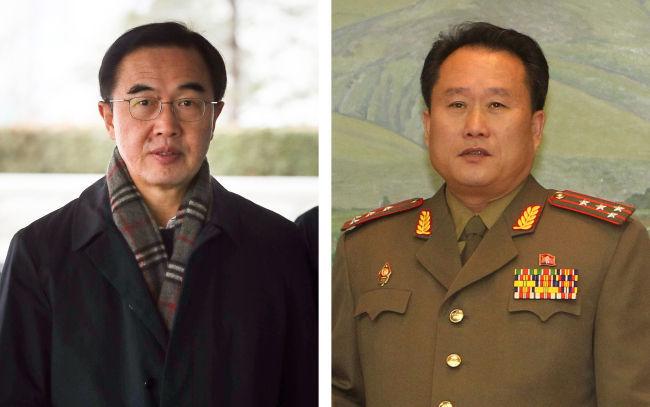 Хоёр Солонгосын уулзалт эхэллээ