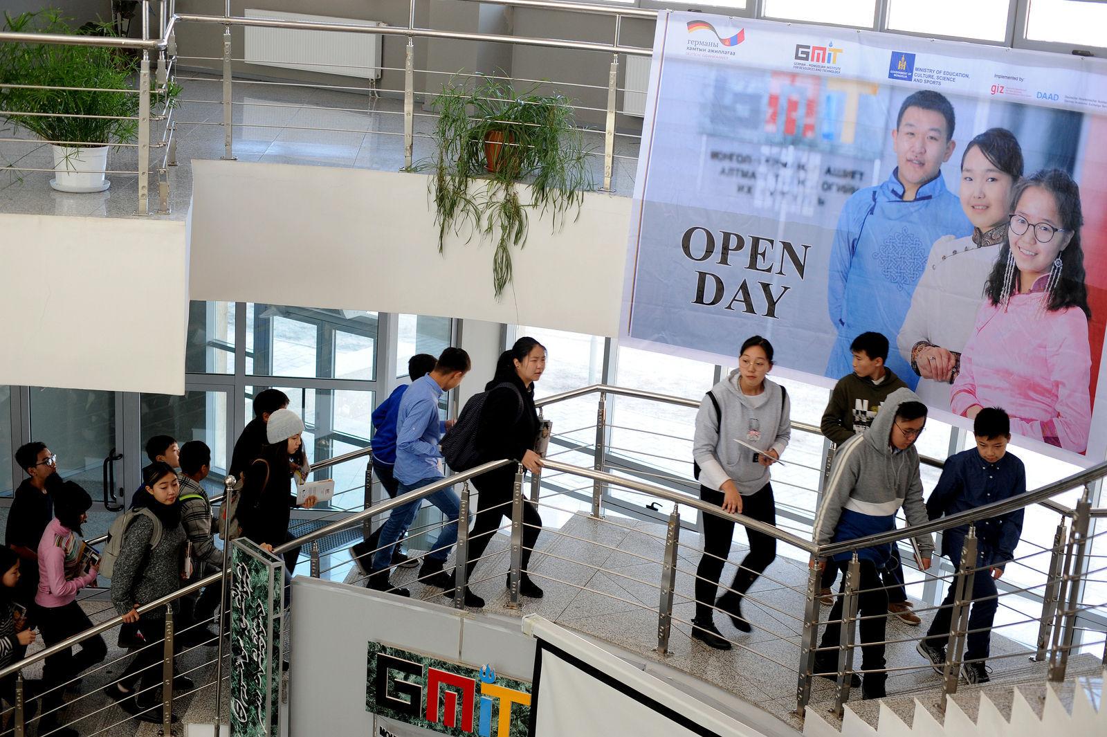 Монгол-Германы хамтарсан ашигт малтмал, технологийн их сургууль нээлттэй өдөрлөгөө хийлээ