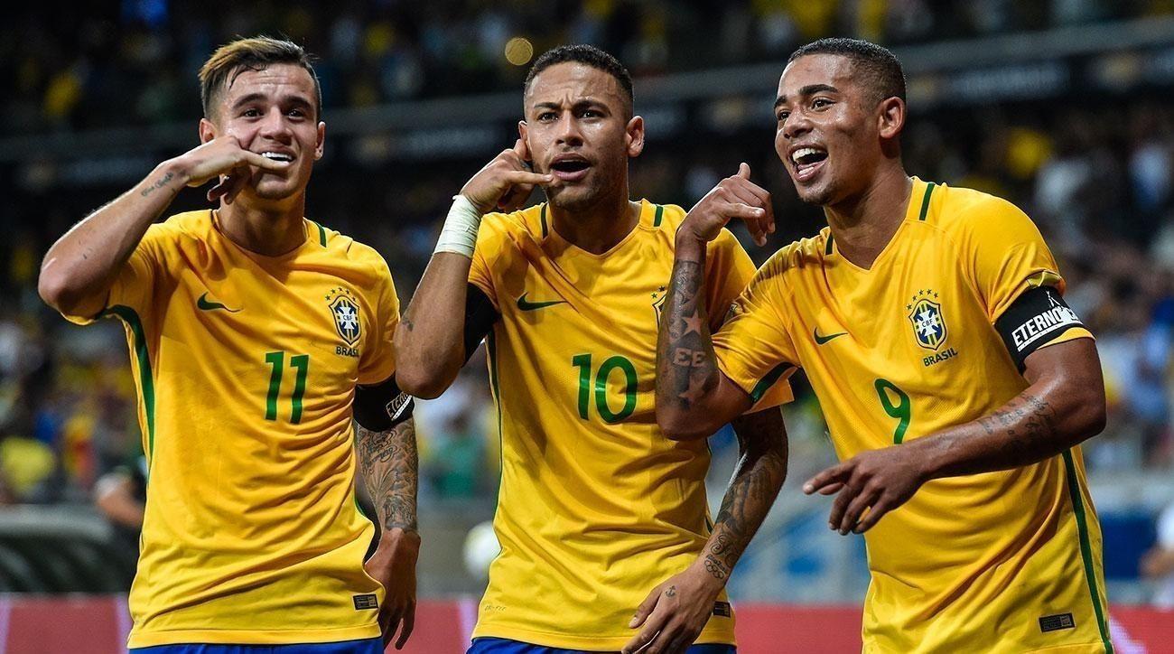 ДАШТ-ийн өмнөх бие халаалтын тоглолтод Бразил Австрийг 3:0-оор бут ниргэв