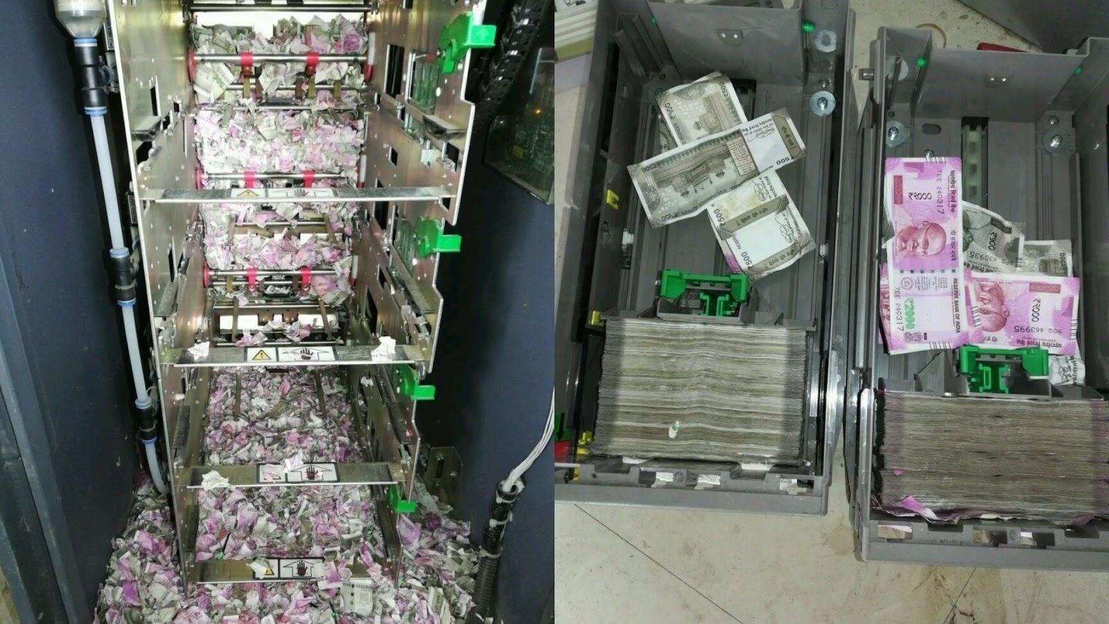 Энэтхэгийн банкны ATM-д харх нэвтэрч, их хэмжээний мөнгөн дэвсгэрт идэж сүйтгэжээ