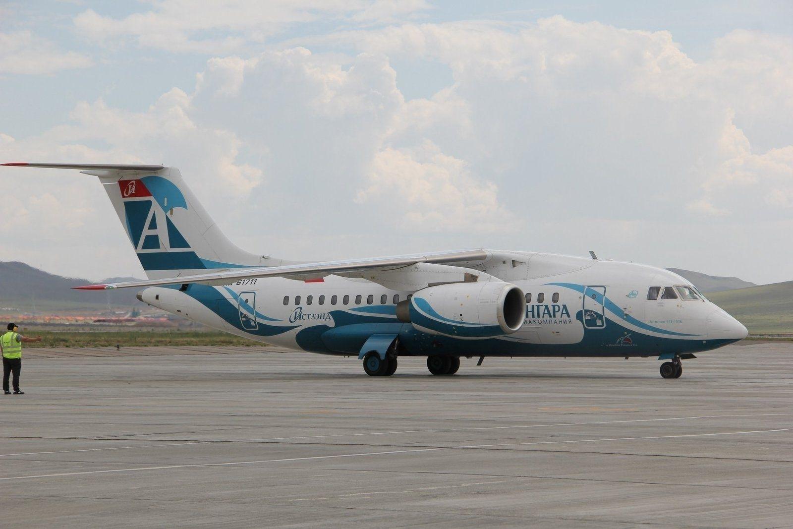 """Ангара"""" авиакомпани Эрхүү-Улаанбаатар чиглэлд анхны нислэгээ үйлдлээ"""