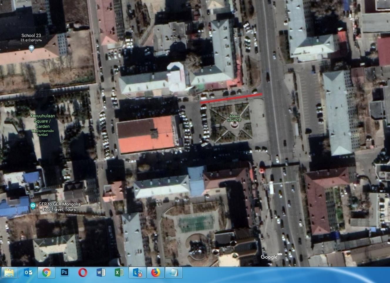 acce49_ard_x974 Урт цагааны урд талын замыг хаана