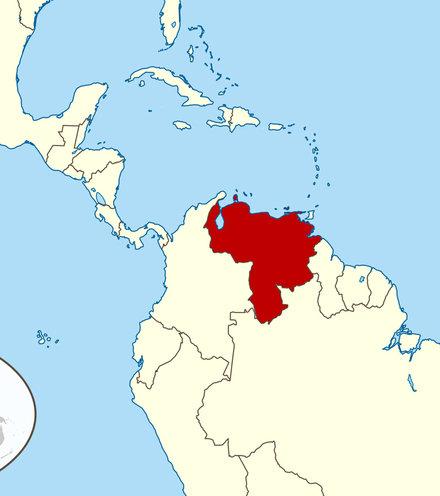 Fce591 venezuela map x220