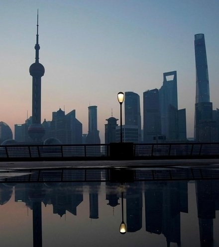 Caa53b shanghai skyline x220