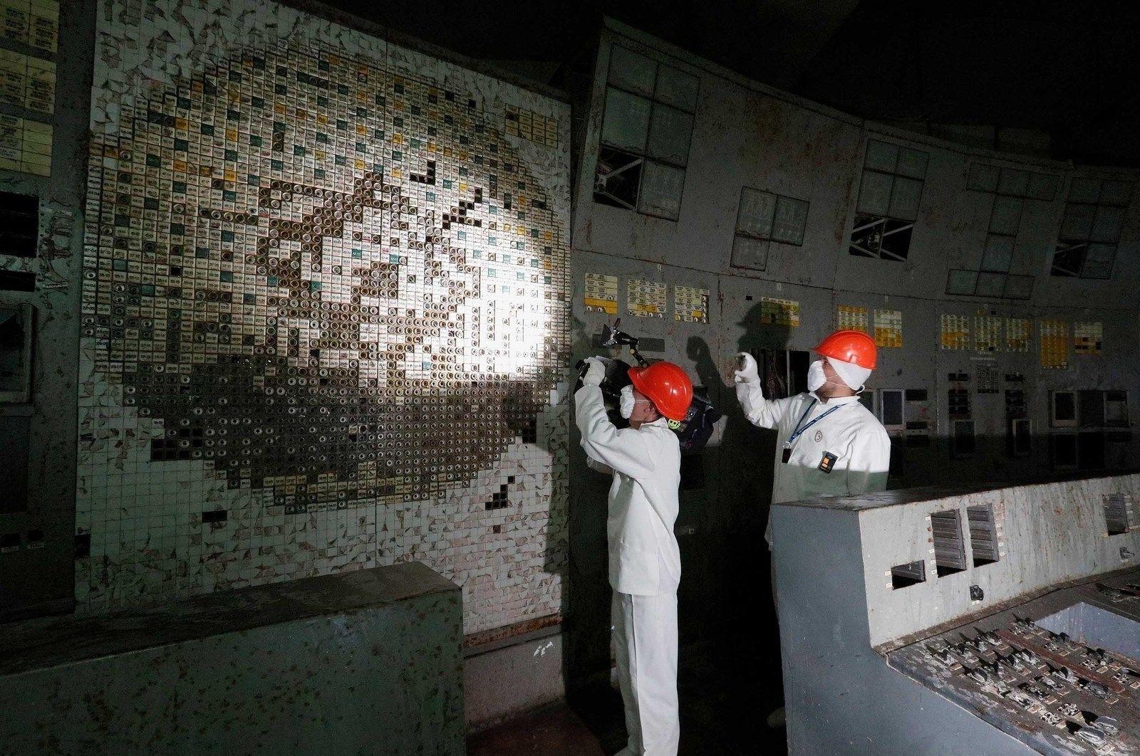 Чернобылийн цөмийн цахилгаан станцын хяналтын өрөө жуулчдад нээлттэй болжээ