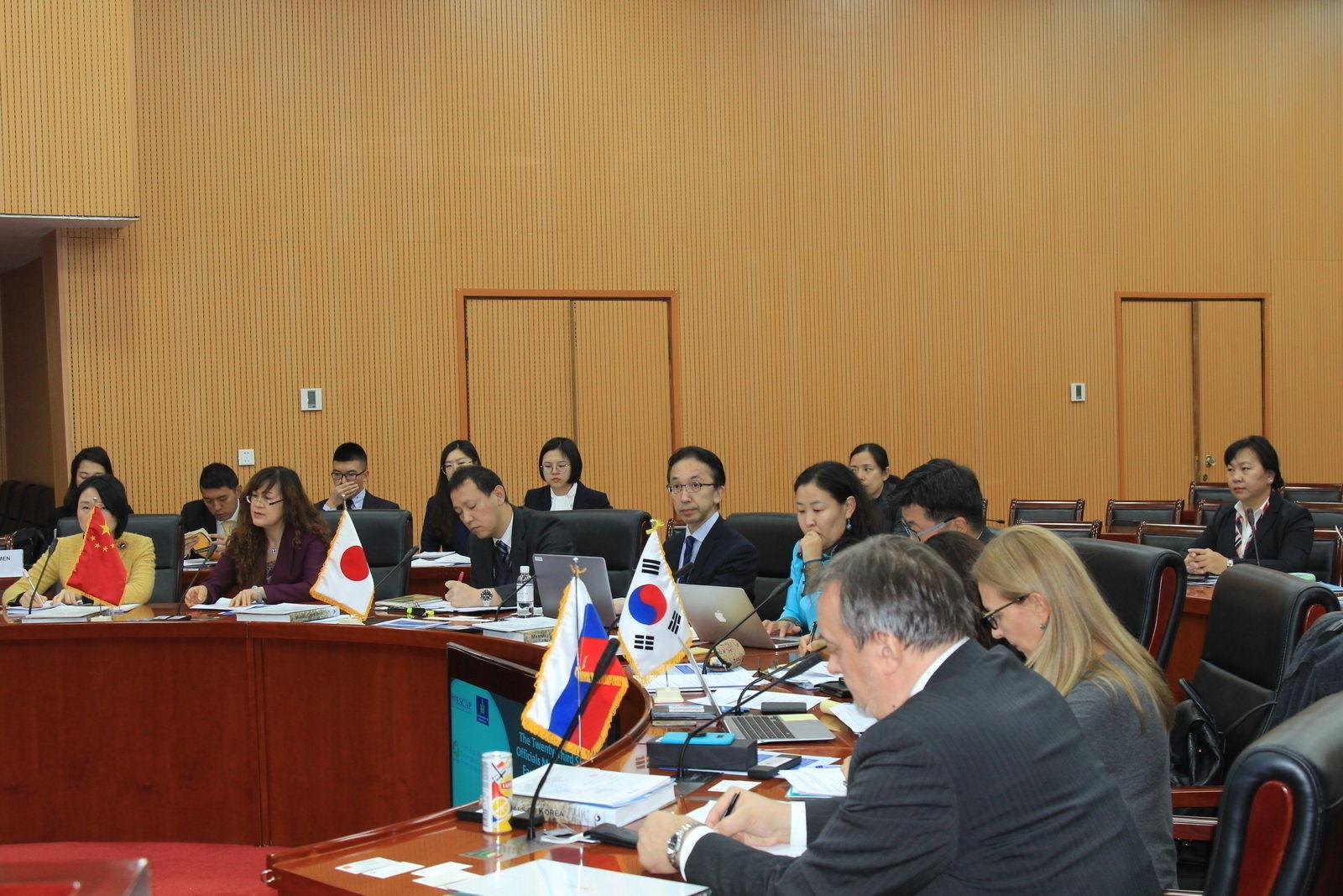 Зүүн хойд Азийн байгаль орчны ахлах албан тушаалтнууд Монголд хуралдаж байна