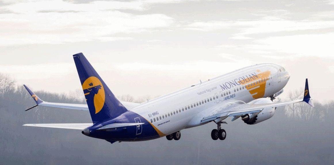 """""""Boeing 737 МAX-8"""" буюу """"Толуй хаан"""" онгоц Улаанбаатарт газардлаа"""