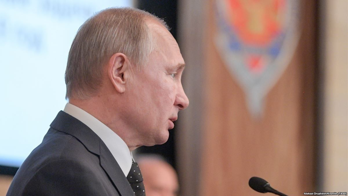 Владимир Путин: Өнгөрсөн онд гадаадын 600 орчим тагнуулыг илрүүлсэн