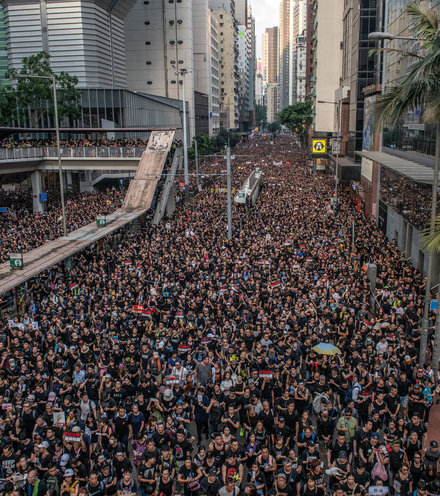 675688 hong kong protest 2m x220