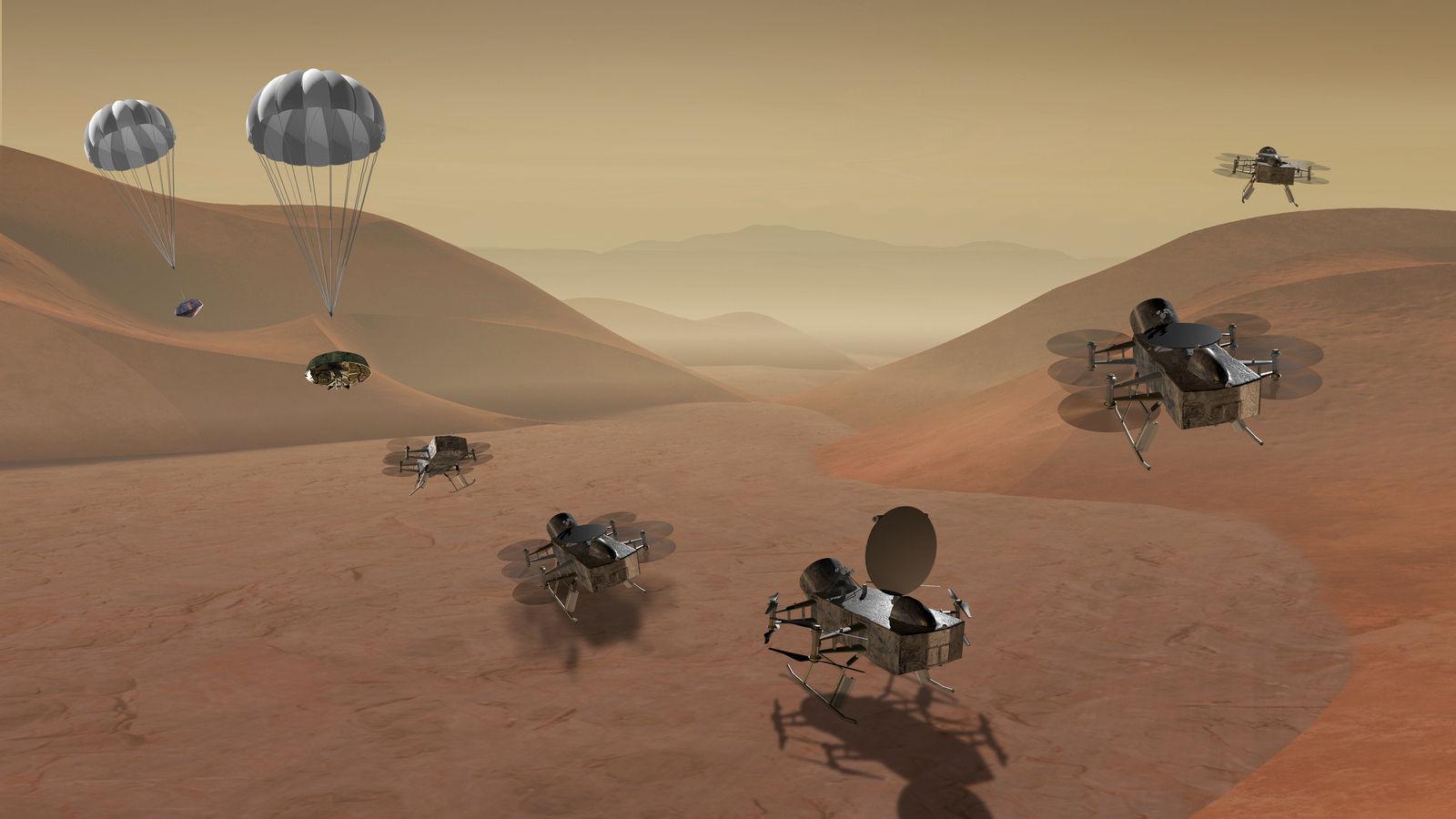 NASA-гийн судлах дараагийн сансрын биет нь Санчир гарагийн дагуул Титан байна