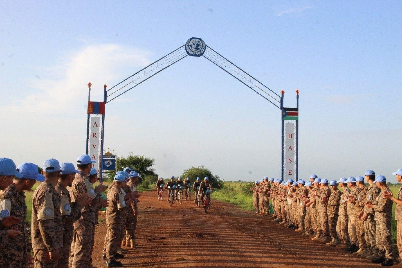 9355fe_d2_x974 Өмнөд Судан дахь монгол алба хаагчид холын зайн эргүүлийг дугуйтай гүйцэтгэжээ