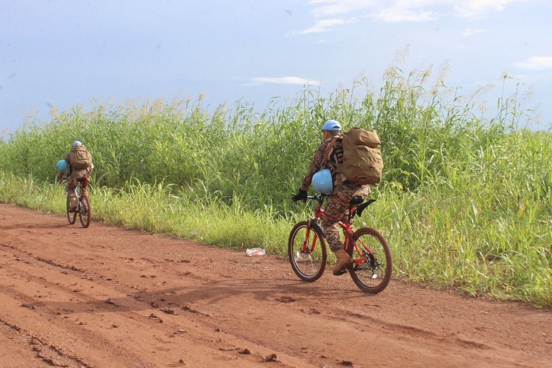 9fe236_d4_x974 Өмнөд Судан дахь монгол алба хаагчид холын зайн эргүүлийг дугуйтай гүйцэтгэжээ