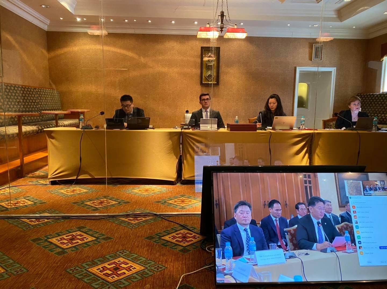 Монгол Улс саарал жагсаалтаас гарах эсэхийг шийдэх шалгалтыг АНУ, ИБУИНХУ, ОХУ, БНХАУ-аас ирсэн шинжээчид хийж байна