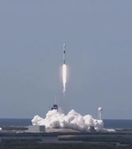 Otuelr spacex launch starlink x220