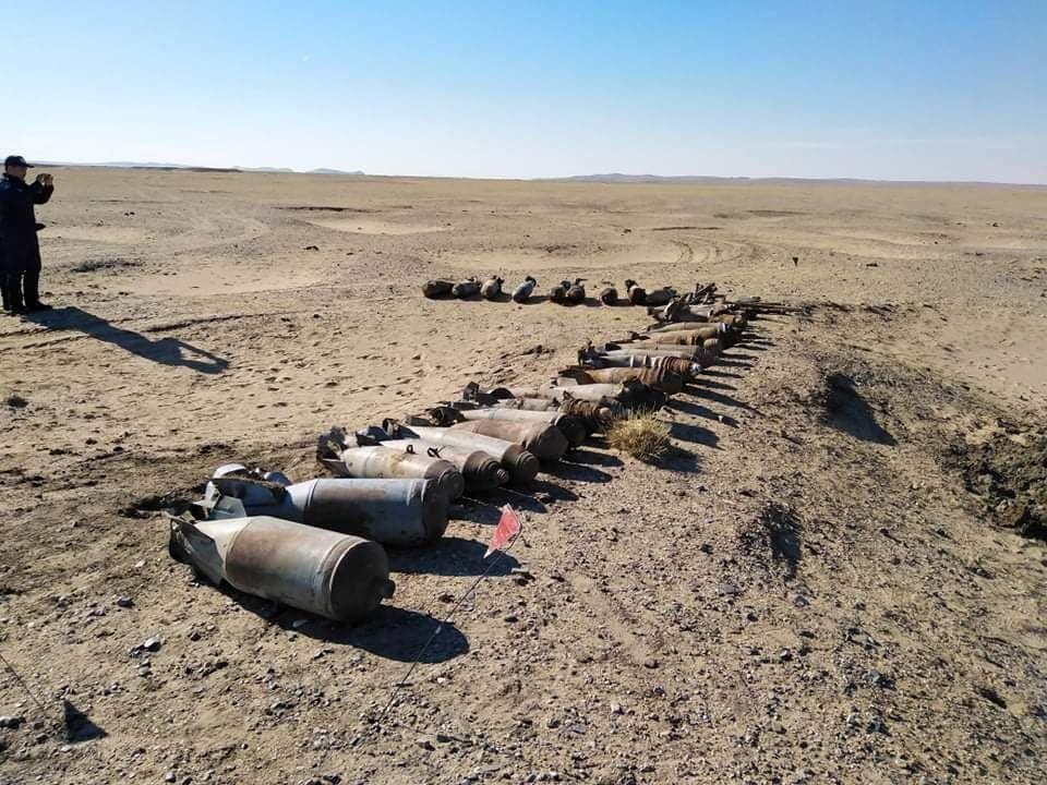 Төв аймгийн Баянжаргалан сумын төвөөс байлдааны онгоцны пулемётны цэнэгтэй сум олджээ