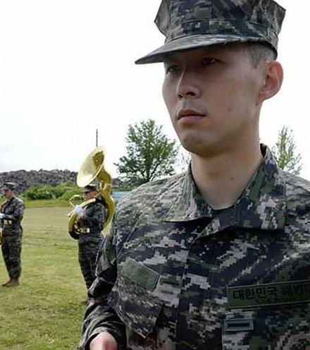 50vne9 son hyung min military training x220