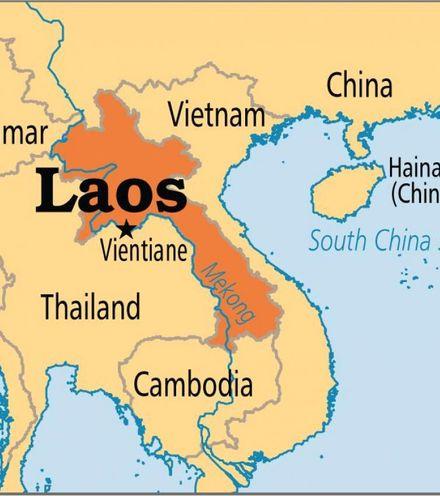 Shaesb laos country map x220